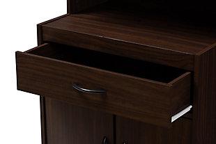 Modern Kitchen Cabinet, Walnut, large