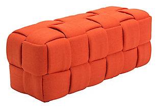 Dakota Woven Checker Bench, , large