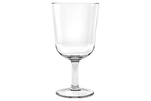 Acrylic Simple Wine Glass (Set of 6), , large