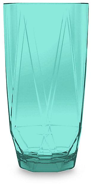 Acrylic Prism Jumbo Aqua Set (set of 6), , large