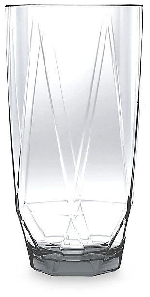 Acrylic Prism Jumbo Clear Set (set of 6), , large