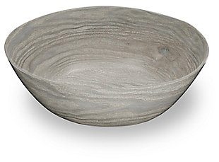 Melamine French Oak Serve Bowl, , large