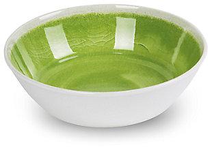 Tarhong Raku Green Bowl (Set of 6), Green, large