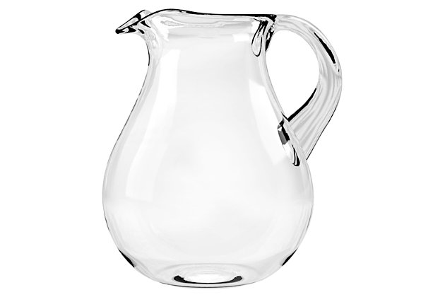 Tarhong 116 oz Cordoba Clear Belly Pitcher, , large