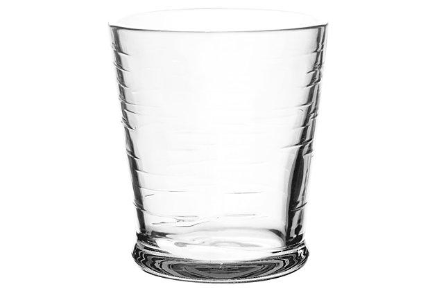 Tarhong 16 oz Cordoba Clear DOF (Set of 6), Clear, large