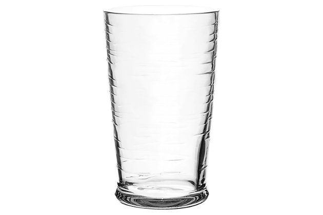 Tarhong 23 oz Cordoba Clear Jumbo (Set of 6), Clear, large