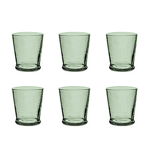 Tarhong 16 oz Cordoba Recycled Green DOF (Set of 6), Green, large