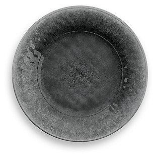 Tarhong Potters Reactive Glaze Salad Plate (Set of 6), Gray, large