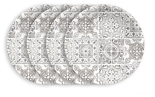 Tarhong Portico Tile Salad Plates (Set of 4), , large