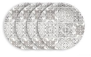 Tarhong Portico Tile Salad Plates (Set of 4)