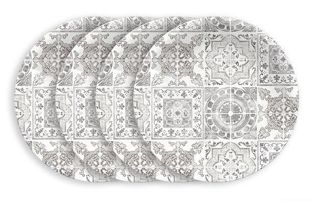 Tarhong Portico Tile Salad Plates (Set of 4), , large