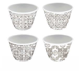 Tarhong Portico Tile Gray Dip Bowl (Set of 4), , large