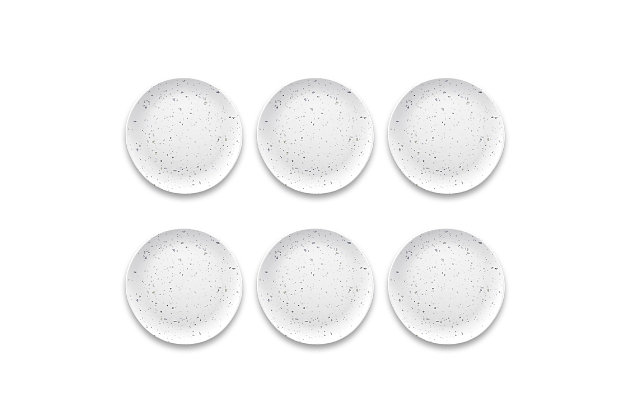 Tarhong Terrazzo Salad Plate (Set of 6), , large