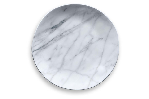Tarhong Carrara Marble Dinner Plate (Set of 6), , large