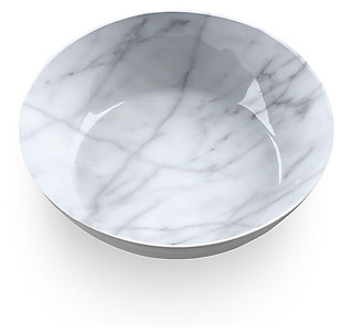 Tarhong Carrara Marble Bowl (Set of 6), , rollover