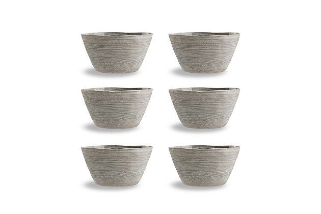 Tarhong French Oak Bowl (Set of 6), , large