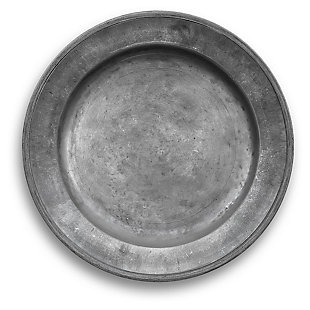 Tarhong Pewter Charger (Set of 6), Pewter Finish, large