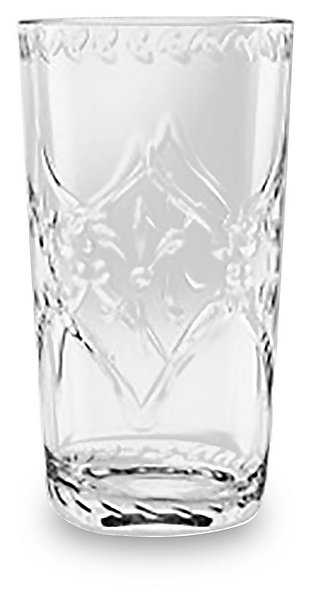 Tarhong 21.5 oz Scroll Clear Cut Jumbo (Set of 6), , large