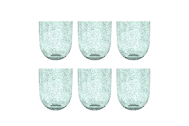 Tarhong 15.5 oz Bubble Mint DOF (Set of 6), Green, large