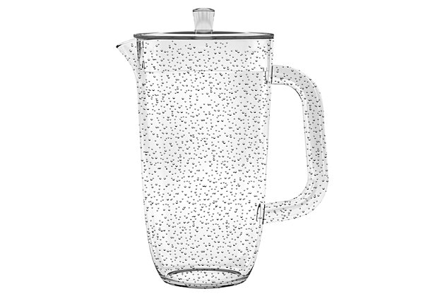 Tarhong 100 oz Bubble Clear Pitcher, , large