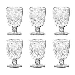 Tarhong 14 oz Fizz Clear Goblet (Set of 6), , large