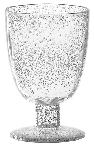 Tarhong 14 oz Fizz Clear Goblet (Set of 6), , large