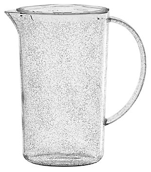 Tarhong 76 oz Fizz Clear Pitcher & Lid, , large