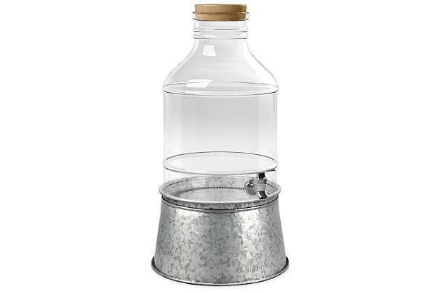 Tarhong 250 oz Vintage Bottle Dispenser, , large