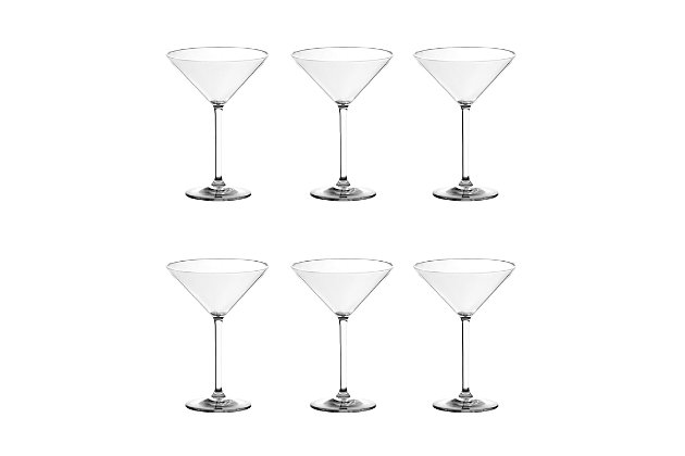 Tarhong 8 oz Cocktail Classic Martini (Set of 6), , large