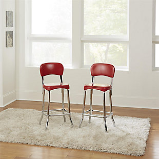 Cosco High Top Bar Stool (Set of 2), , rollover
