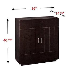 SEI Mid-Century Modern Bar Cabinet, , large