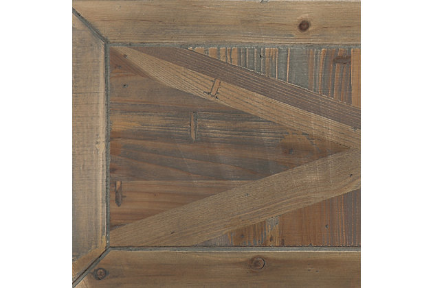 SEI Reclaimed Wood Bakers Rack, , large