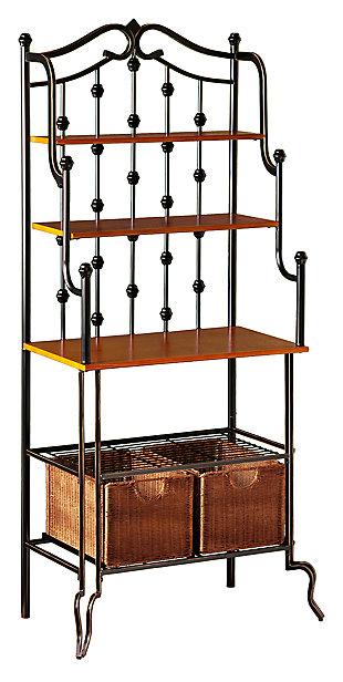 SEI Iron Bakers Rack, , large