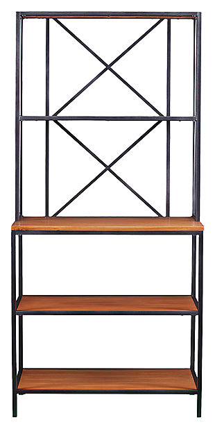 SEI Two-Toned Bakers Rack, , large
