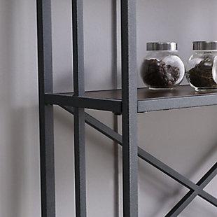 SEI Modern Farmhouse Bakers Rack, , large