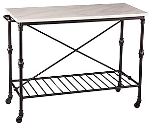 SEI Industrial Kitchen Island, , large