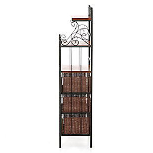SEI 3 Drawer Bakers Rack, , large