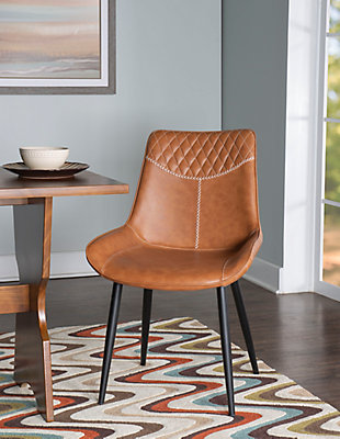 Linon Griffin Set of Two Dining Chairs, , rollover