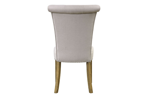 Uttermost Lucasse Oatmeal Dining Chair, , large