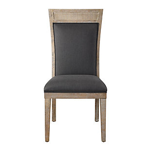 Uttermost Encore Dark Gray Armless Chair, , large