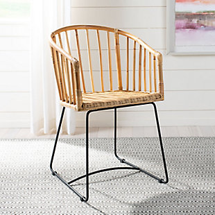 Curvo Rattan Barrel Dining Chair, , rollover