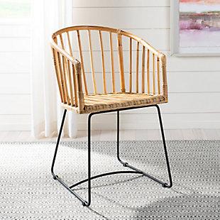Curvo Rattan Barrel Dining Chair, , rollover