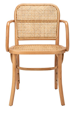 Cameron Cane Dining Chair, , large