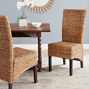 "Lombardi  18"" Rattan Side Chair (Set of 2), , rollover"