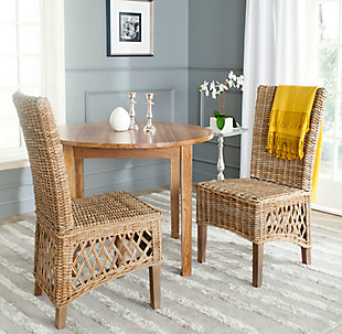 "Satiago 19"" Rattan Side Chair (Set of 2), , rollover"