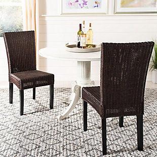 "Celtic 18"" Wicker Side Chair (Set of 2), , rollover"