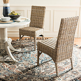 """Mirage 18"""" Rattan Side Chair (Set of 2), , rollover"""