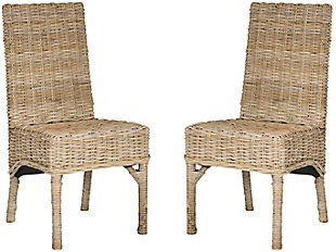 """Mirage 18"""" Rattan Side Chair (Set of 2), , large"""