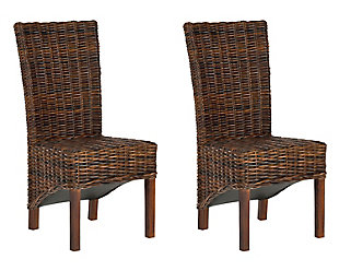 """Beta 18"""" Rattan Side Chair (Set of 2), , large"""