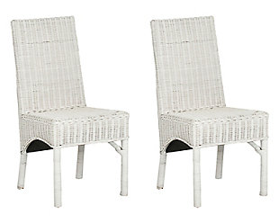 "Alfred 18"" Rattan Side Chair (Set of 2), , rollover"